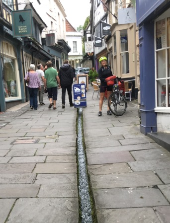 Frome, with street stream