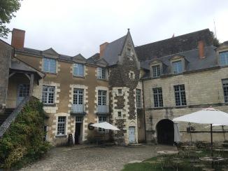 Inside Angers castle
