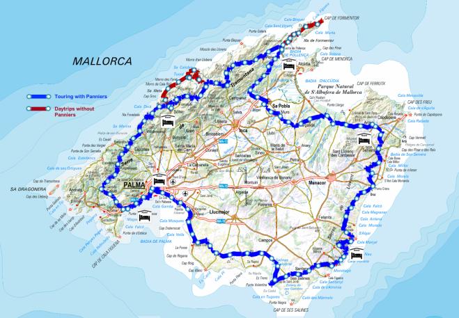 Mallorca Map 2