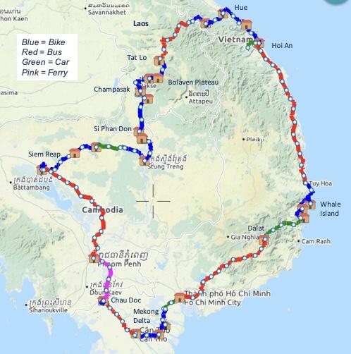 se asia map 1 whole trip